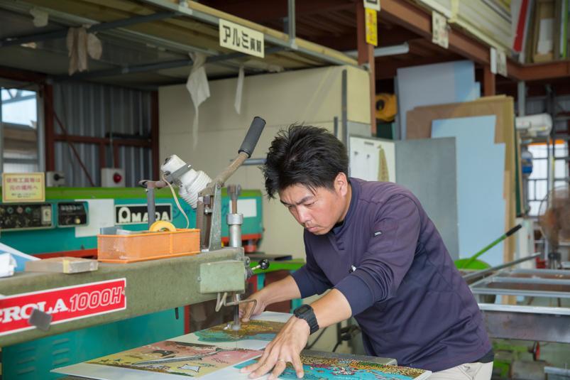 【工場製作取付】~街を彩る。Signで表現。~