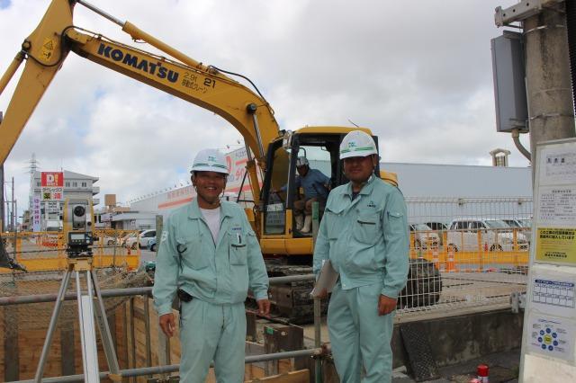 【土木技術員/資格不問】本島勤務&毎年とれる9連休など充実した福利厚生で働きやすさ◎